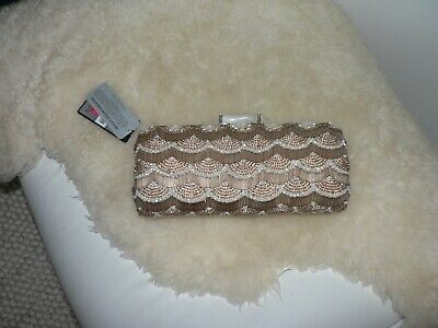 AU20 • Buy Brand New With Tags Forever New Clutch Bag Bead Embellishment