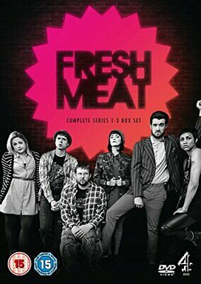 £4.81 • Buy Fresh Meat - Series 1-3 [DVD] - DVD  QSVG The Cheap Fast Free Post