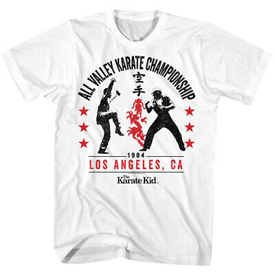 $20 • Buy American Classics Karate Kid All Valley '84 T-Shirt - White