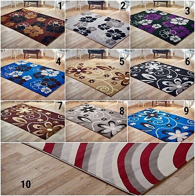 Area Living Room Hallway Runner Matching Clearance Floral Soft Quality Rugs Sale • 18.44£