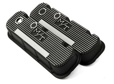 $204.78 • Buy Holley 241-85 Valve Covers M/T Mickey Thompson Big Block Chevy Bbc 454 396