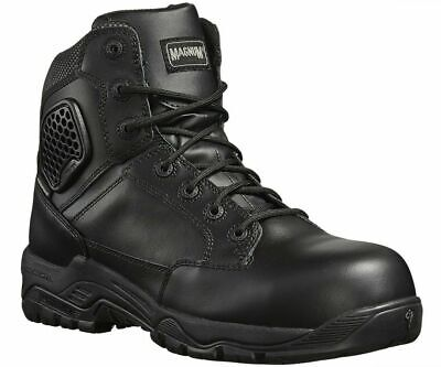 $138.91 • Buy MAGNUM Strike Force 6.0 S3 Black Waterproof Leather Side-zip Combat Safety Boot