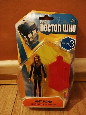 Doctor Who Amy Pond Articulated Action Figure 3.75  Wave 3 (Black Jacket) A • 11.99£