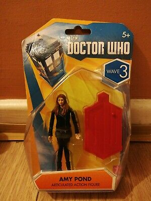 Doctor Who Amy Pond Articulated Action Figure 3.75  Wave 3 (Black Jacket) B • 11.99£