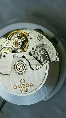 $745 • Buy New Swiss OMEGA 1152 Authentic Movement (SAME VALJOUX 7750) Chrono. Black Date