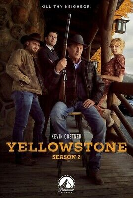 AU43.17 • Buy Yellowstone: Season 2 [New DVD]