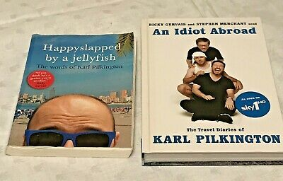 £4.99 • Buy Happyslapped By A Jellyfish & An Idiot Abroad Karl Pilkington Ricky Gervais