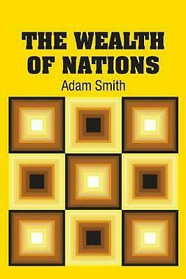 AU45.40 • Buy Wealth Of Nations By Adam Smith (English) Paperback Book Free Shipping!