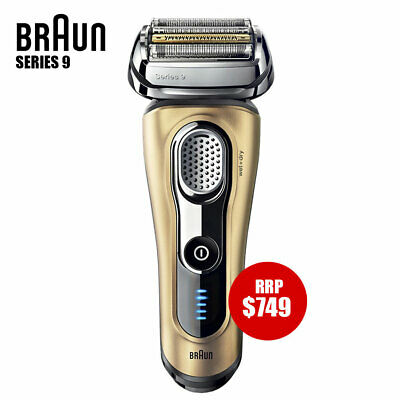 AU249 • Buy Braun Series 9 Electric Shaver Wet/Dry Trimmer Recharge GOLD (Unit Only)