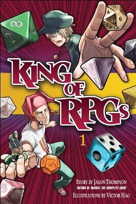 King Of RPGs, Volume 1 By Thompson, Jason Book The Cheap Fast Free Post • 5.49£