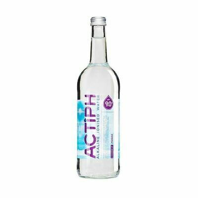 ActiPH Alkaline Ionised Water - Glass Bottle X 750ml (5 Pack) • 13.41£