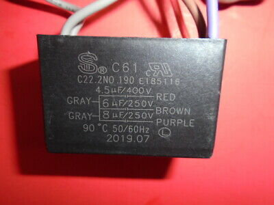 $37 • Buy  Hampton Bay Ceiling Fan Wiring Harness Switches/parts/cap C61 Ac250v