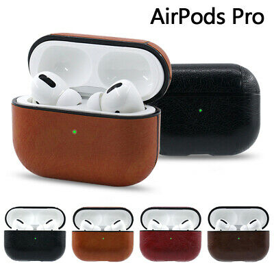 $ CDN4.71 • Buy For Apple AirPods Pro Charging Box Case Leather Shockproof Protective Box Cover