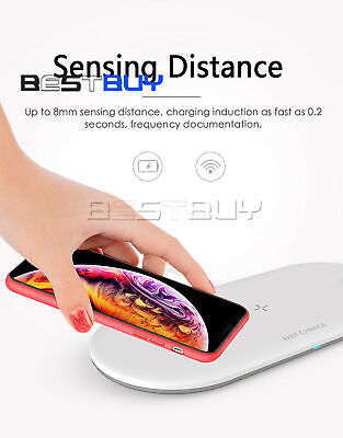 $ CDN6.34 • Buy 3 In 1 Wireless Qi Fast Charger Dock For Apple Watch &  And IPhone BBC