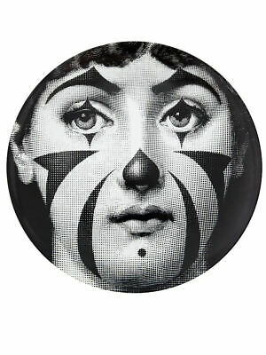 $260 • Buy Fornasetti LINA With A Clown Face By Piero Fornasetti Wall Plate Italy NIB