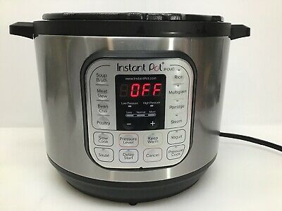 $19.95 • Buy Instant Pot DUO80 V2 8 Quart 7-in-1 Programmable Pressure Cooker Body ONLY*
