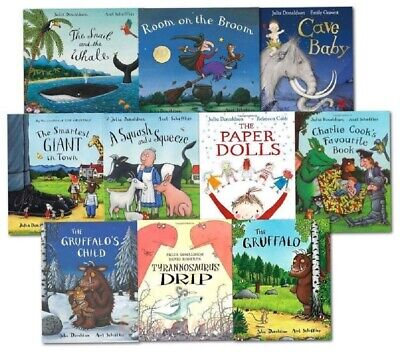 AU48.44 • Buy NEW Julia Donaldson 10 Picture Books Collection Illustrated Wonderful Stories