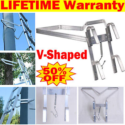 £28.70 • Buy Ready Assembled Aluminium Ladder Stand Off 'v' Shape - New - Ladder Accessories