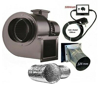 £129.90 • Buy Industrial Centrifugal Blower Extractor Fan + Controller/Adapter/Flexible/Pipe