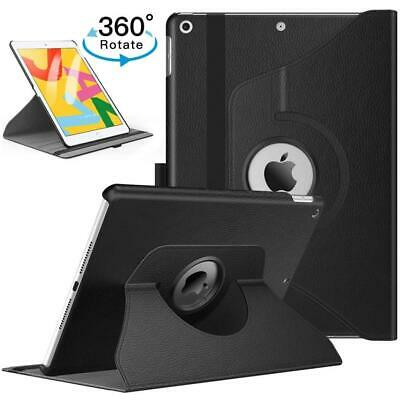$9.89 • Buy For IPad 10.2  2019 7th Generation 360 Rotating Leather Smart Stand Case Cover