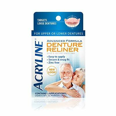 Acryline Advanced Formula Denture Reliner By Acryline Denture Repair Kits NEW • 14.93$