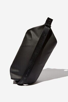 AU15 • Buy Lost Unisex Oversized Sling Bag Bags & Drinking  In  Black