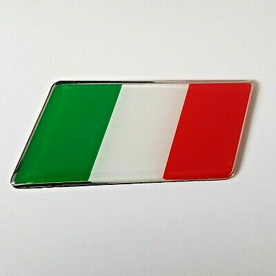 Land Rover Tricolore Italy Flag Badge Sticker Fits Ranger Rover Sport Discovery • 4.40£