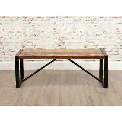 Urban Chic Reclaimed Wooden Small Dining Bench • 131.51£