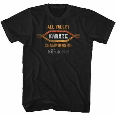 $22.95 • Buy Karate Kid - All Valley - American Classics - Adult T-Shirt