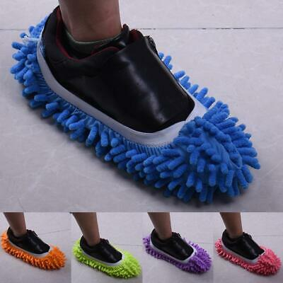 1 Pair Mop Slippers Lazy Floor Foot Socks Shoes Quick Polishing Cleaning Dust  • 3.99£