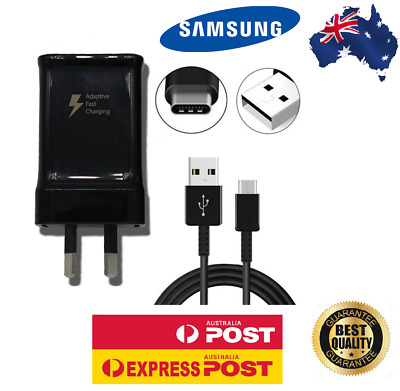 AU16.99 • Buy Genuine Samsung Travel Wall Adapter Fast Charger USB Type-c S8/s9/s10/Note8/9/10