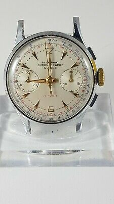 $ CDN450 • Buy Pierpont Chronograph Vintage Watch, For Repair !or Parts