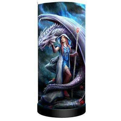Gothic Dragon & Mystic Mage Table Lamp ~ See Pics ~ New! • 14.95£
