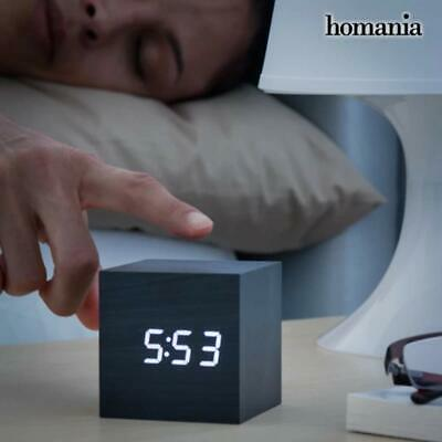 Digital Alarm Clock Cube Control Calendar Thermometer USB/AAA In Gift Box • 7.89£