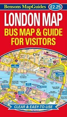 £5.49 • Buy London Map: Bus Map And Guide For Visitors By Bensons MapGuides Book The Cheap