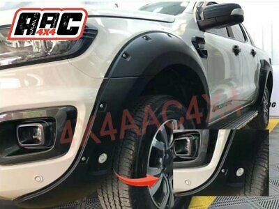 AU269.99 • Buy Jungle Black Fender Flares Fit Ford Ranger PX3 Wildtrak 2018-2019 Sensor Whole