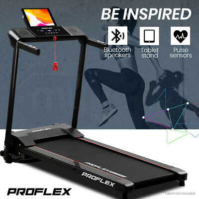 AU379 • Buy PROFLEX Treadmill Bluetooth Running Machine Small Compact Foldable Home Electric