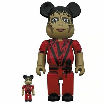 $220 • Buy Medicom Japan Michael Jackson Thriller Zombie 100% & 400% Bearbrick Figures New