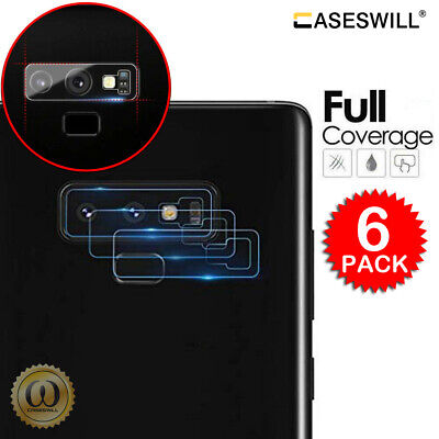 $ CDN5.02 • Buy For Samsung Galaxy Note 9, Note 8 HD Tempered Glass Camera Lens Screen Protector