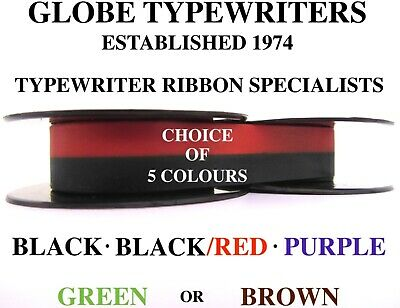 £5.50 • Buy 🌎 1 X 'OLYMPIA SIMPLEX' HIGH QUALITY TYPEWRITER RIBBON **CHOICE OF 5 COLOURS**