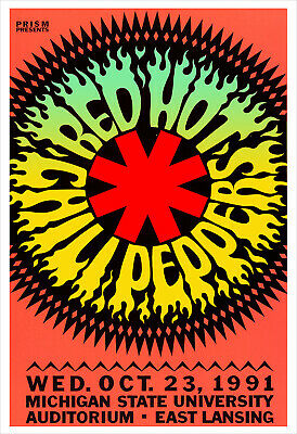 $21.50 • Buy Red Hot Chili Peppers Concert Poster Print