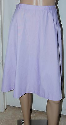 $ CDN19.58 • Buy Vintage Koratron Womens Lavender Purple Pencil Skirt Above Knee Small S 70's