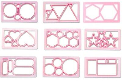 Icing Cutter Shapes Press Pastry Biscuit Cookie Cake Sugar Mould 9 Variations • 2.95£