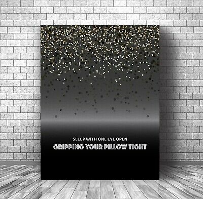 Enter Sandman By Metallica - Canvas Or Plaque Decor - Song Lyric Inspired Print • 27.42£