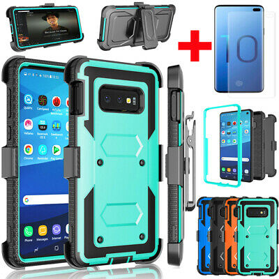 $ CDN12.58 • Buy For Samsung Galaxy Note 10 9 S10 Plus S10e Shockproof Armor Clip Holster Case