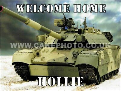 £4.50 • Buy Army Tank Edible Icing Cake Topper / Many Sizes
