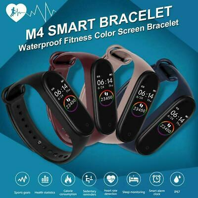 M4 Smart Watch Band Sport Bracelet Blood Monitor Tracker For Xiaomi Mi Band 4 US • 18.99$