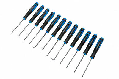 £7.99 • Buy 12 Pce Precision Small Screwdriver And Pick Tool Set - Slotted Philips And Torx