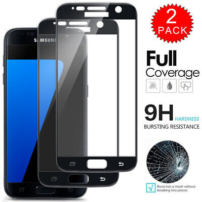 $ CDN5.02 • Buy For Samsung Galaxy S6 - FULL COVER Tempered Glass Film Screen Protector [2-Pack]