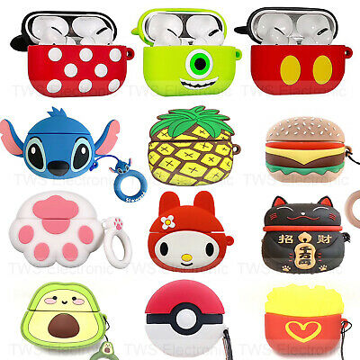 $ CDN6.35 • Buy For Apple Airpods Pro 3 Wireless Charging Case Cartoon Silicone Protective Cover